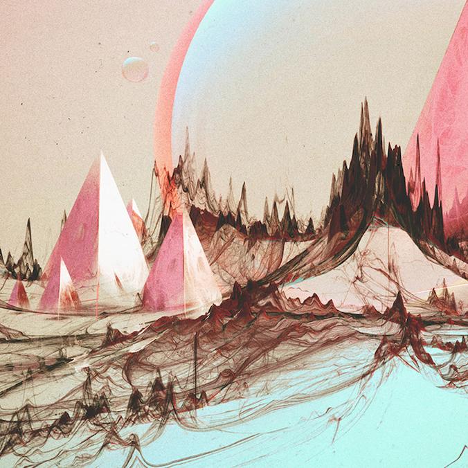 hand-built mountains