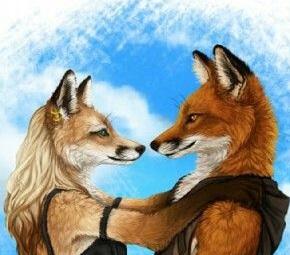 kitsune-couple
