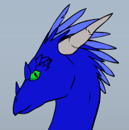 blue dragon head 2
