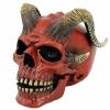 Red Horned Skull