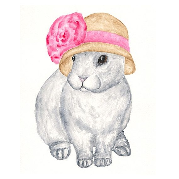rabbit bonnet