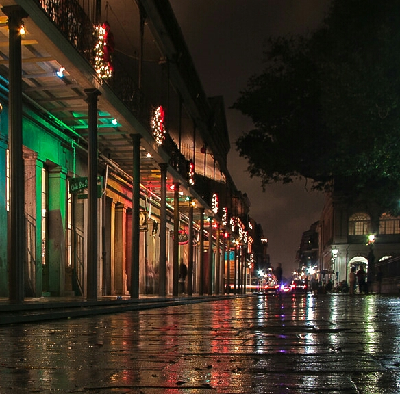 french quarter - night