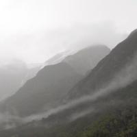 02 - landscape - misty mountains