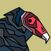 polygonal vulture