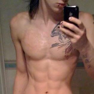 999. shirtless